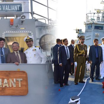Goa Shipyard built FPV CGS Valiant commissioned, 4 months ahead of   schedule, by Hon'ble Prime Minister of Mauritius on 16th August 2017 at Mauritius.