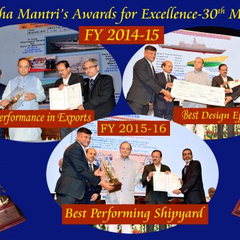 Raksha Mantri's Award for Excellence - 30 May 2017
