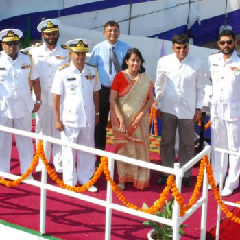 UN-SLIPPING CEREMONY FOR SECOND 105M AOPV FOR SRI LANKAN NAVY HELD AT GSL, DEC 16 2016