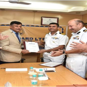 GSL SUCCESSFULLY CULMINATES 6 COAST GUARDS OPV PROJECT BY DELIVERING 6 LARGE SIZED OPVs WITHIN 2 YEARS