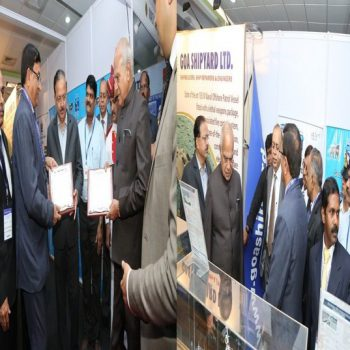 Goa Shipyard ltd participated in Vendor Meet organized at Chennai on 18-19 Jan 2018 under aegis of Ministry of Defence to facilitate prospective vendor's participation in GSL's procurement of goods/services- Excellent response from vendors, specially MSMEs from across the Nation.