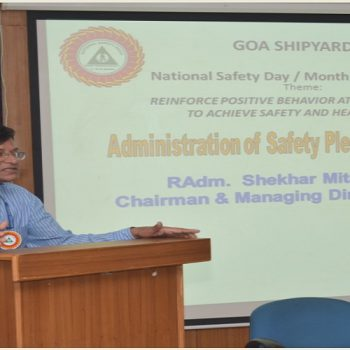 Goa Shipyard Limited observes National Safety Day / Month Campaign