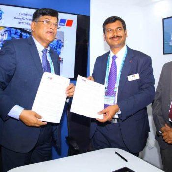 GOA SHIPYARD LIMITED AND MTU, GERMANY AGREE TO MANUFACTURE MTU ENGINES IN INDIA