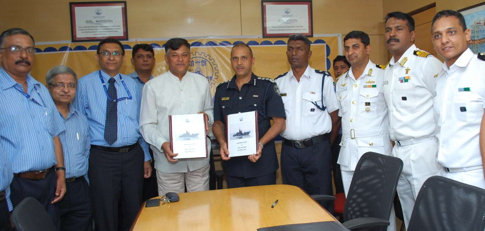Gsl Handed Over Second Fast Patrol Vessel For Mauritius Government In Record Time