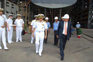 Sunil Lanba Visits GSL-1
