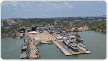 Two Land Berths For Dry Berthing