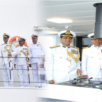 "Hon'ble Petroleum Minister, dedicates ICGS ""SHAURYA"", the largest and  most advanced new generation OPV to the Nation."