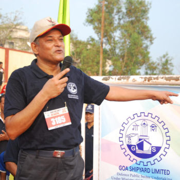 Cmd sir at Marathon (Run for Unity) 2016