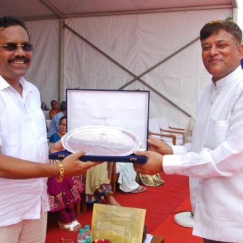 Cmd sir with Carlos Almeida MLA