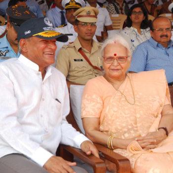Cmd sir with Goa Governor H E mridula Sinha