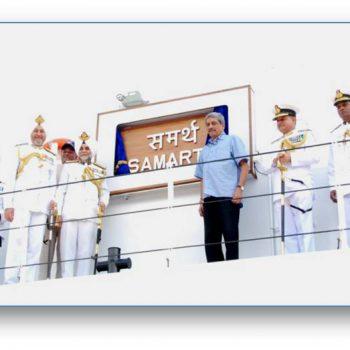 Commissioning of ICGS Samarth 10 Nov 2015 1