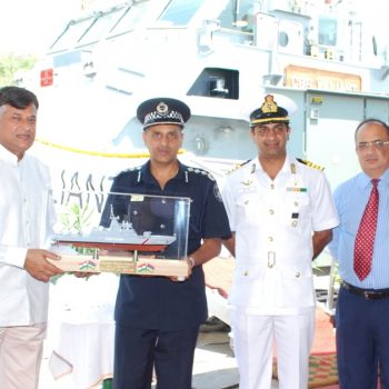 GSL HANDED OVER SECOND FAST PATROL VESSEL FOR MAURITIUS GOVERNMENT IN RECORD TIME (2)