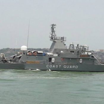 GSL built Fast Patrol Vessel for Mauritius Coast Guard - MCGS Valiant Embarks on its Maiden Voyage to Mauritius on 25 May 2017