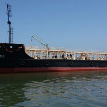 GSL delivered 1000TN Fuel barge to Indian Navy on 17th August 2017