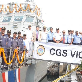 MCG VICTORY FAST PATROL VESSEL, MADE BY GSL FOR MAURITIUS, EMBARKS ON ITS MAIDEN VOYAGE TO MAURITIUS (45 DAYS AHEAD OF SCHEDULE) (3)