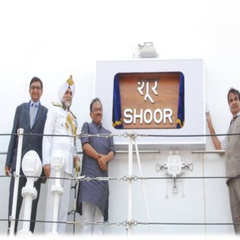 OPV ICGS 'Shoor' Commissioned