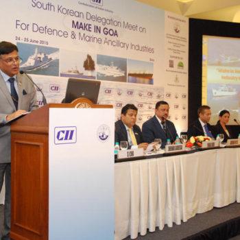 South Korean Delegation Meet on MAKE IN GOA 2015