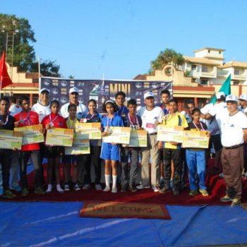 all winners at mini marathon