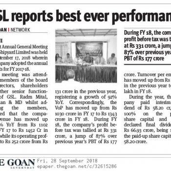 The Goan News Cutting Page 8 28th Sept 2018
