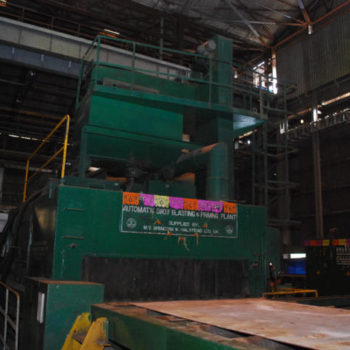 Steel Preparation Shop