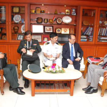 28 Mar - Myoung-Jin Chang, Minister DAPA, South Korea  Delegation   during DEFEXPO