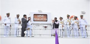 Commissioing of YD 1222 CGS Shaurya