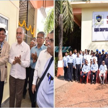 GSL dedicates 'Centre of Excellence in Welding' to the Goan Youths