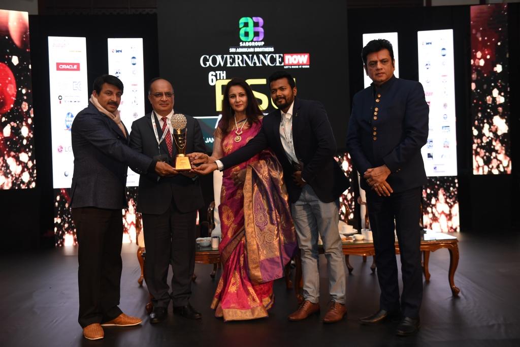 Governance Now 6th PSU Awards on 17th January 2019