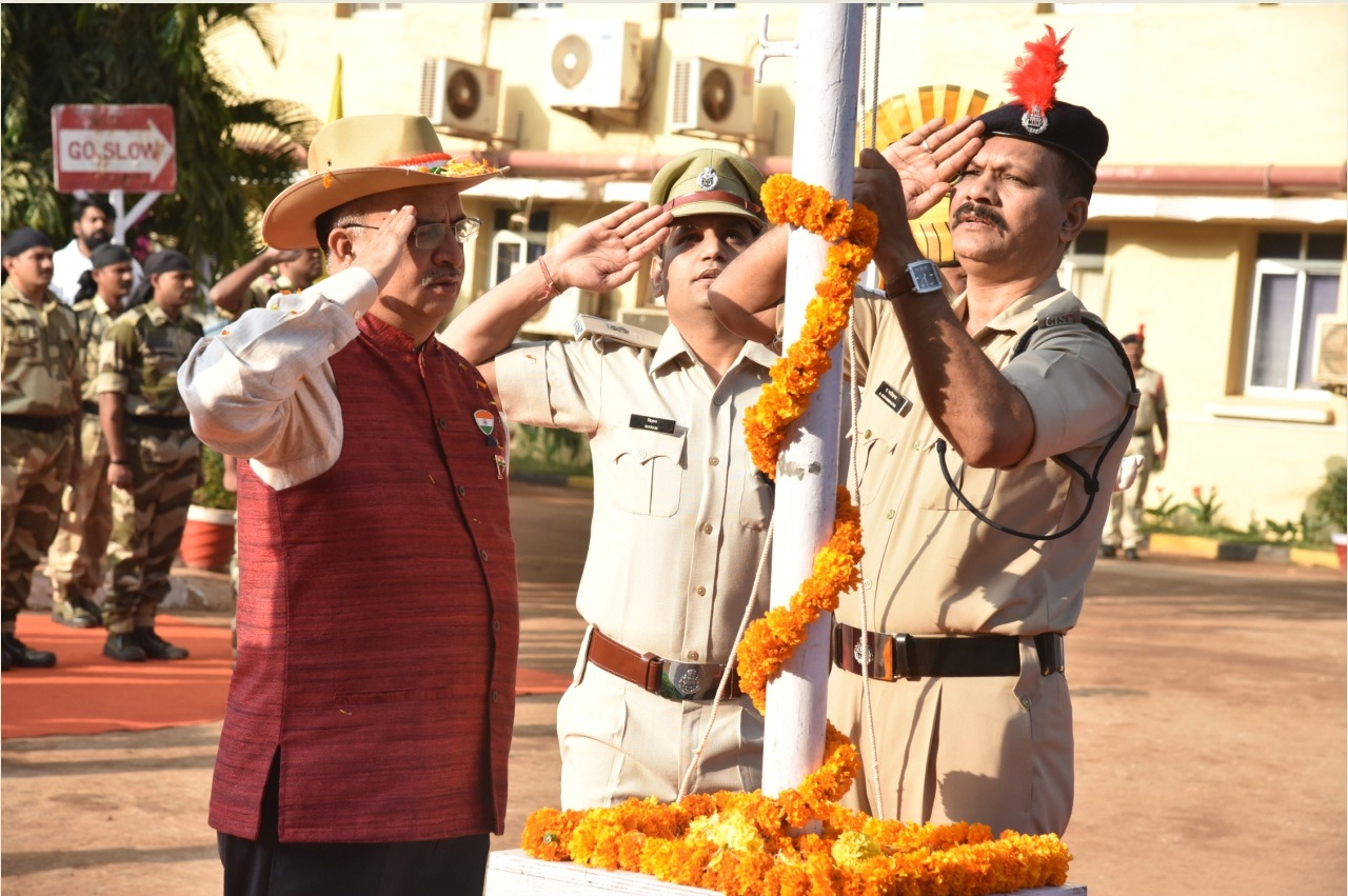 GOA SHIPYARD LIMITED CELEBRATED REPUBLIC DAY WITH PATRIOTIC FERVOR