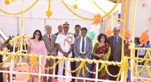 GSL Launches 2nd Indigenous Coast Guard Offshore Patrol Vessel