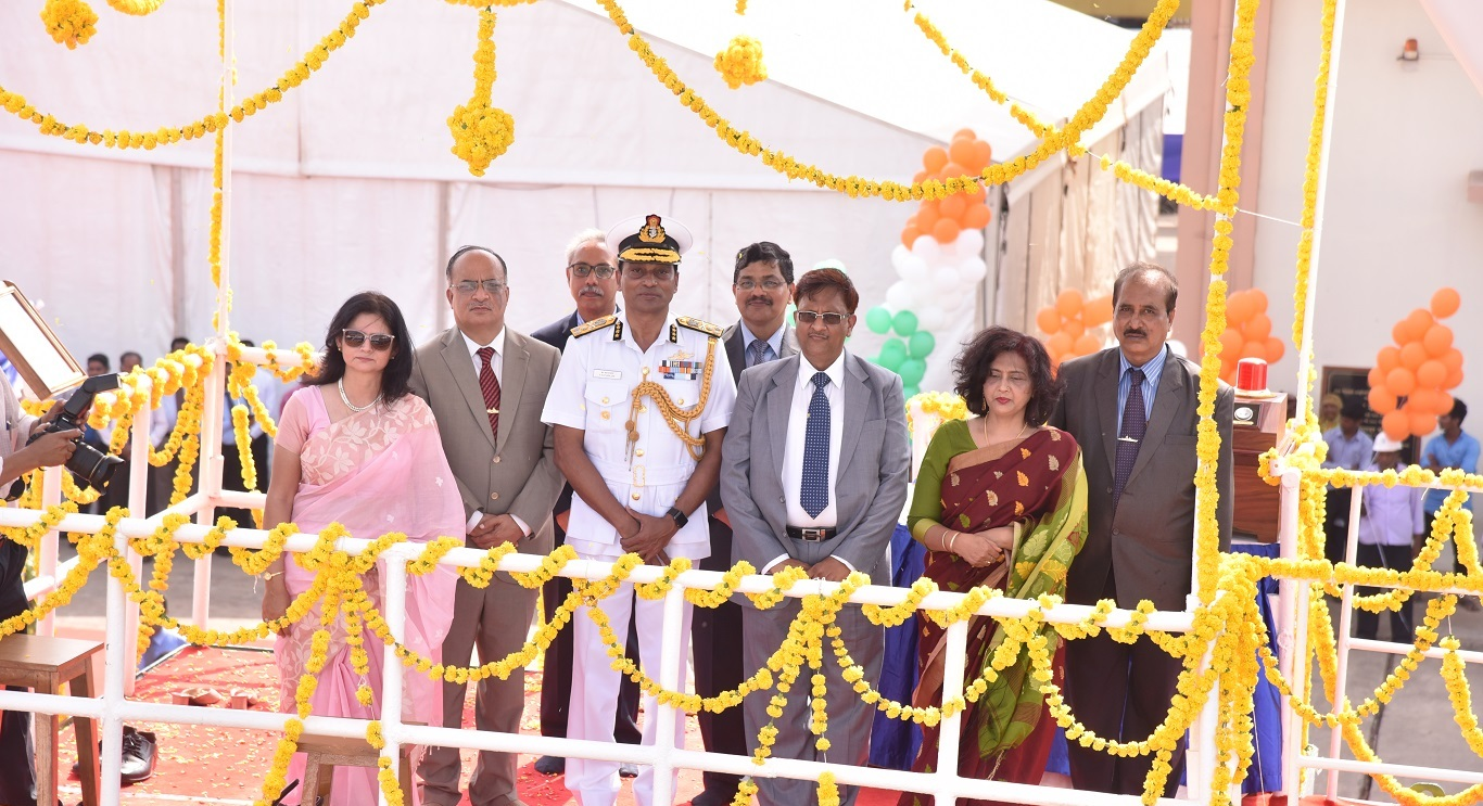 GSL Launches 2nd Offshore Patrol Vessel