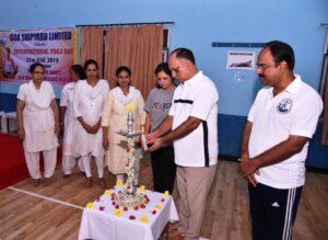 Goa Shipyard Limited Celebrated International Yoga Day