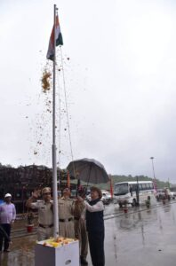 Independence Day Celebrations at Goa Shipyard Limited