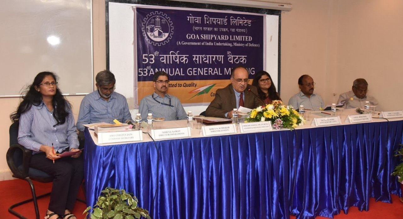 The performance of GSL during the FY 2018-19 was promising in terms of revenue and profit amidst challenging business environment – CMDE B B NAGPAL, CMD GSL