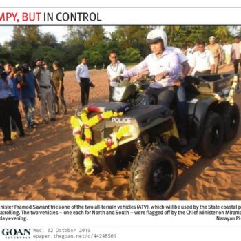 The Goan News Cutting 2nd Oct 19 Page 7