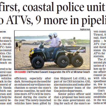 The Times Of India - Goa, Friday, Oct 2, 2019, page 2