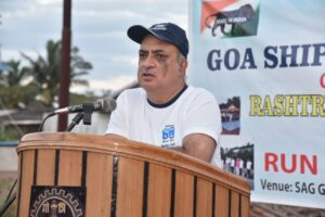 Rashtriya Ekta Diwas (Run for Unity – 5 km Run) organised by Goa shipyard Limited on the occasion of Birth Anniversary of Late Sardar Vallabhai Patel this morning at 6.30 am. The event commenced with Unity Oath administered by CMDE B B NAGPAL, CMD, Goa shipyard Limited. Run for Unity was held in which all the employees and CISF personnel participated with great zeal and enthusiasm
