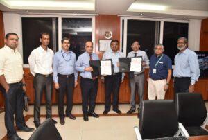Shri Subhash Chandra, IAS, Secretary (Defence Production) visited GSL