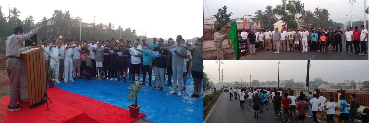 Glimpses of the Mini Marathon organised on 14th Dec 19 as part of