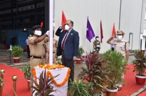 74th Independence Day Celebrations at Goa Shipyard Limited