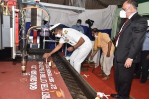Digital Plate Cutting Ceremony of P1135.6 on 21st September 2020