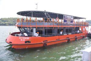 E-flag Off Ceremony of 20M Varansi Ferry at GSL on 23 Nov 2020