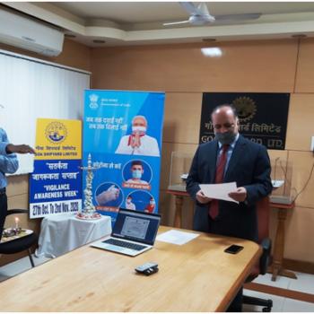 Inauguration of Vigilance Awareness Week 2020 2