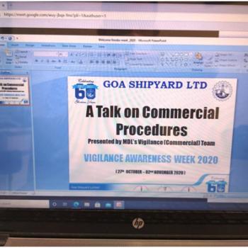 Online Session by MDL Vigilance Team on Procurement procedures & guidelines for GSL Procurement Executives 1