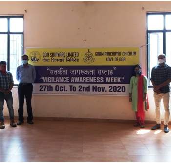 Sensitization programme in Gram Panchayat, Chicalim, Goa 1