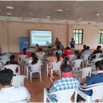 Sensitization programme in Gram Panchayat, Chicalim, Goa 2