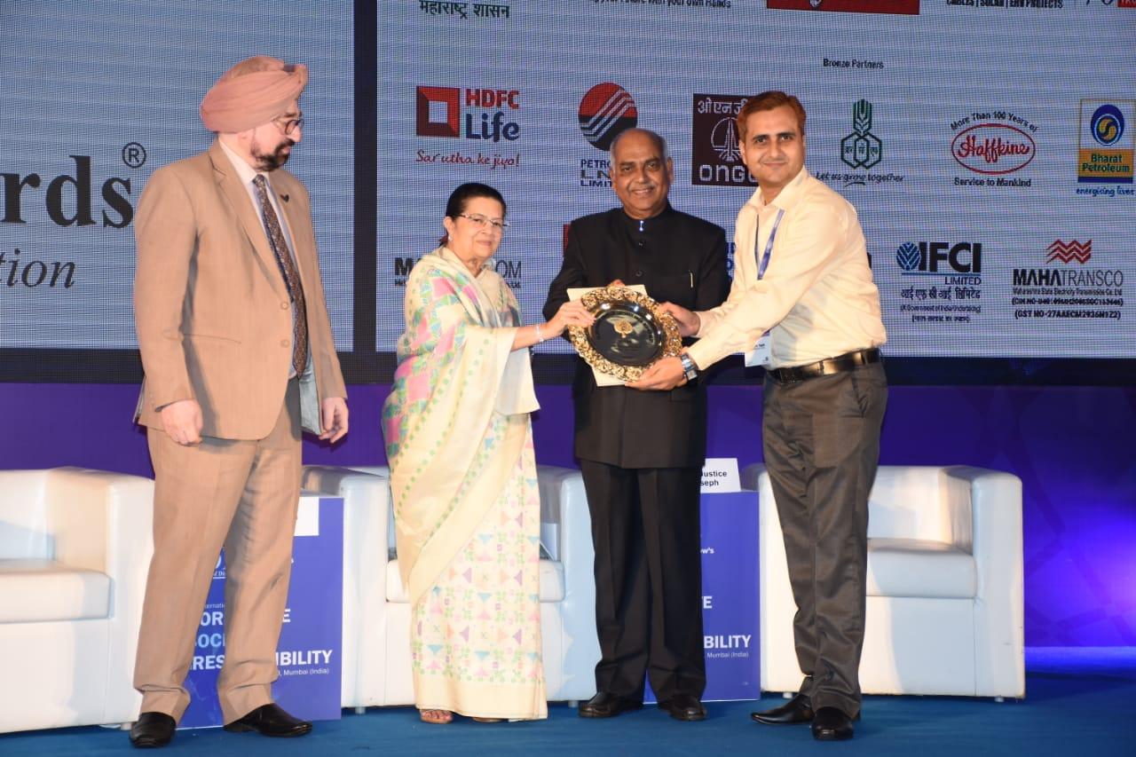 Golden Peacock Award For CSR