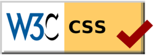 W3C CSS Certified