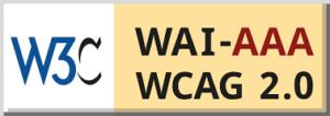 W3C WAI-AAA WCAG 2.0 Certified