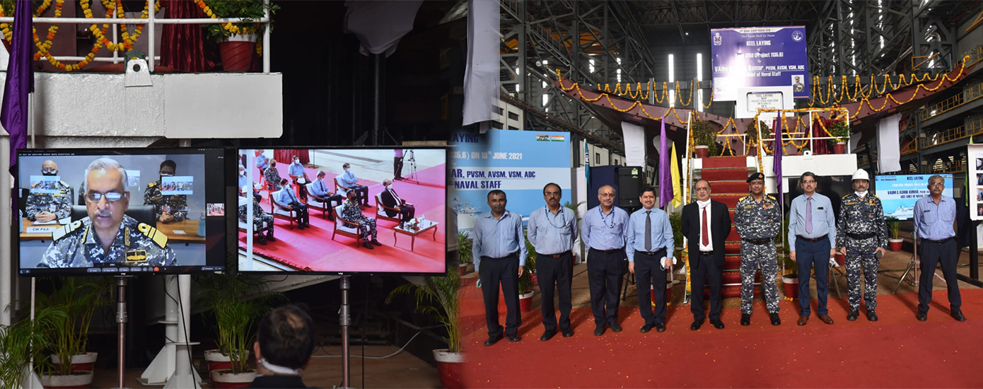 Keel-laid-on-18-Jun-21-for-Second-Frigate-of-P11356-Project-at-GSL-by-VCNS-VADM-G-Ashok-Kumar-PVSM-AVSM-VSM-Banner